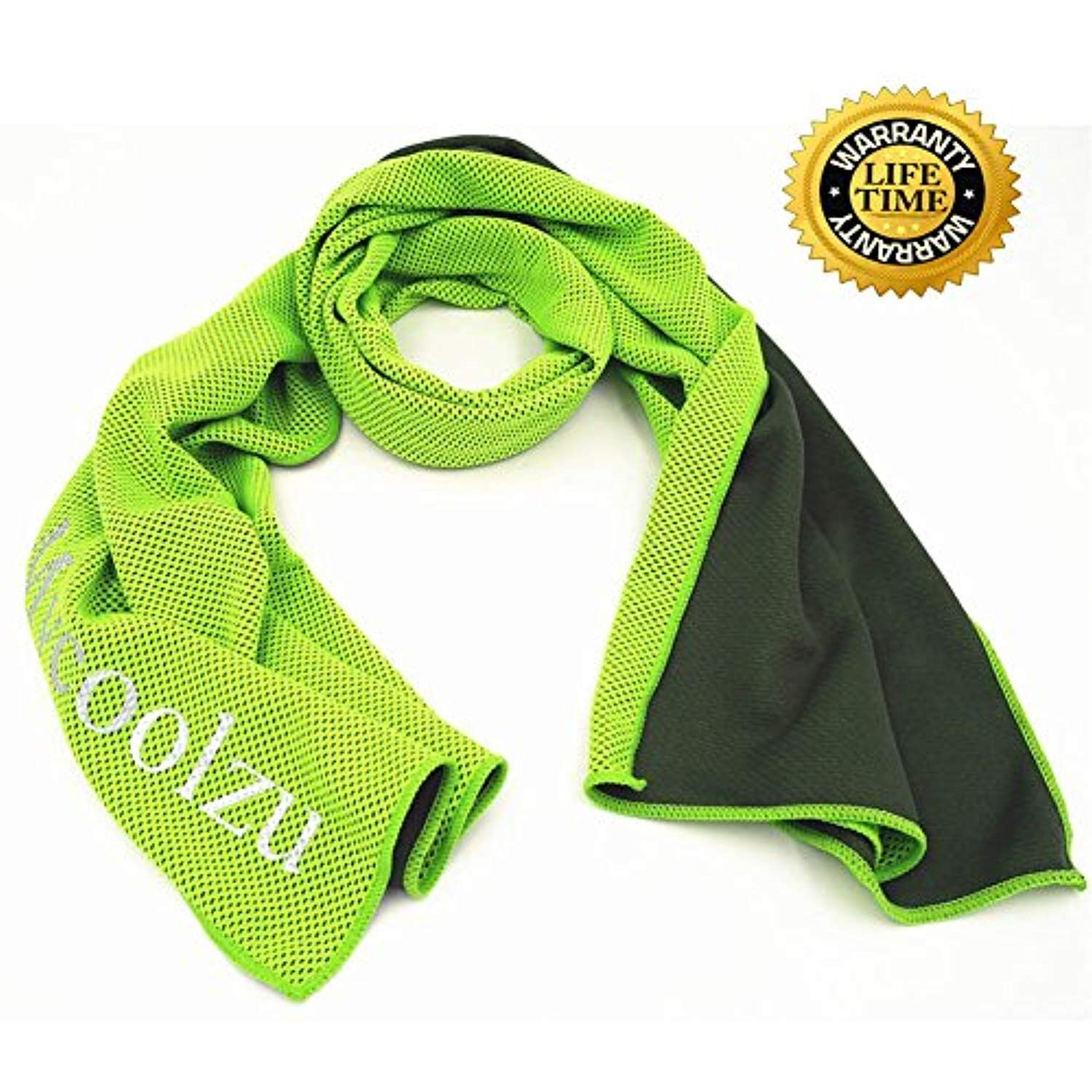 Mycoolzu Cooling Towel Instant Ice Cool Cooling Towels For Men Or