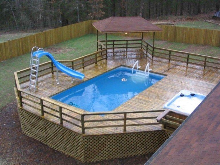 Awesome Above Ground Pool Contractors Near Me Outdoorpooldesign Outdoorpoolarea Indooroutdoorpoo Pool Deck Plans Swimming Pool Decks Above Ground Pool Slide
