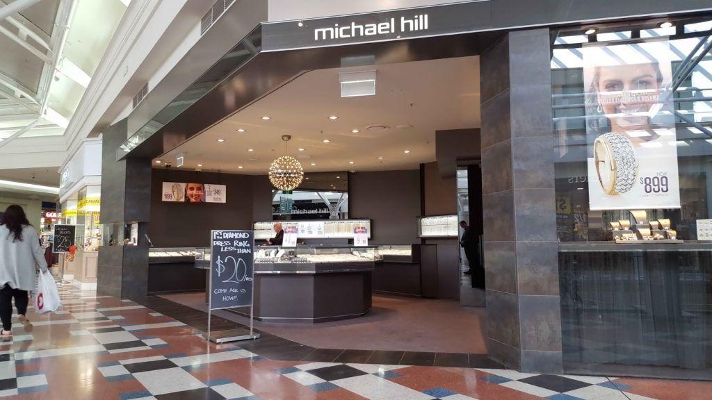 af53f3a3da4 MacAurthur Square Shopfront Michael Hill   August 2016, MacArthur ...