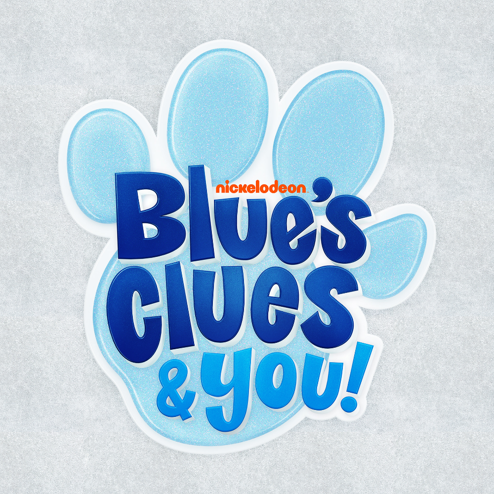 Nickelodeon S New Show Blues Clues You S Logo On Behance Blues Clues New Shows Nickelodeon
