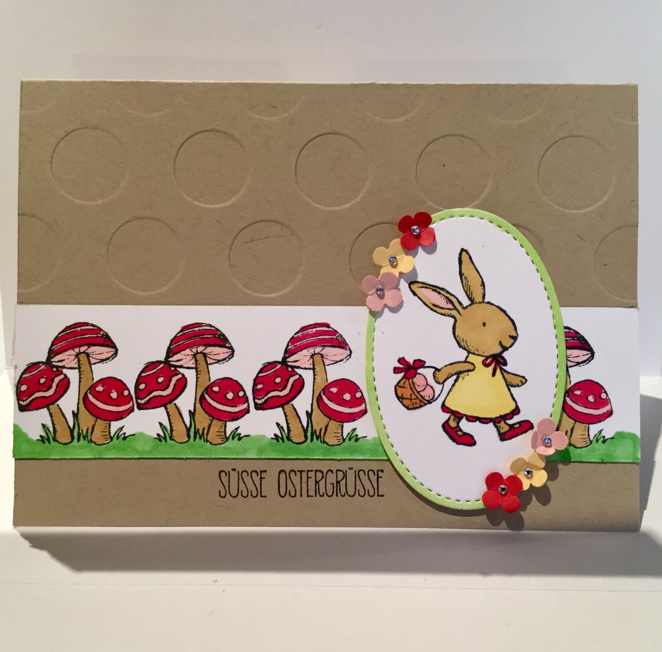 Stampin up Ostern Hasenparade Grußkarte