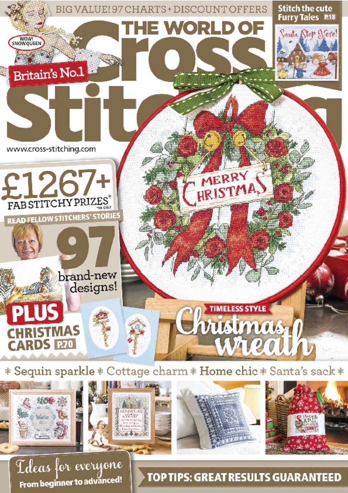 World Of Cross Stitching Christmas 2020 The World of Cross Stitching Magazine Subscription (Digital) in