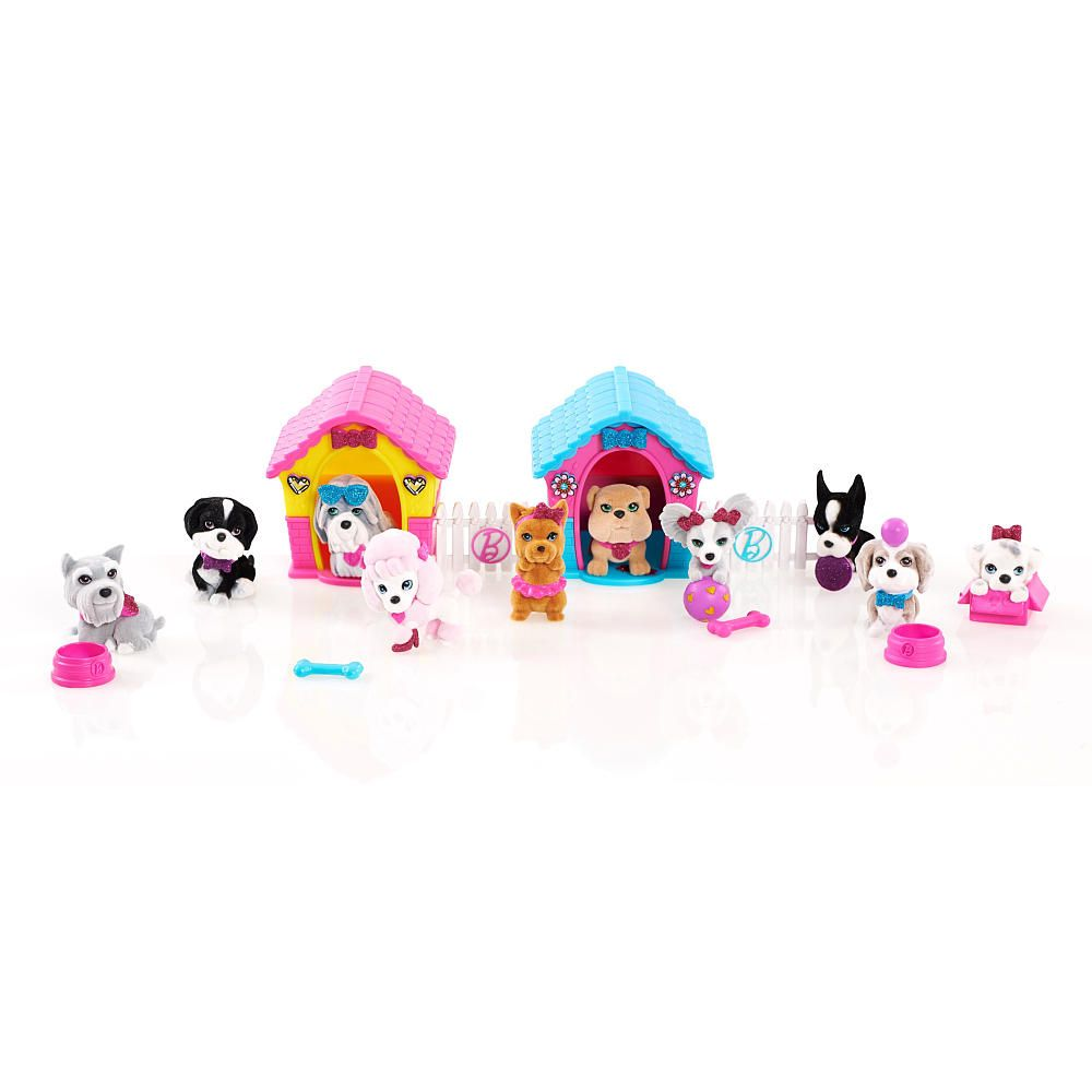 Barbie The Great Puppy Adventure 10 Pack Puppy Playset ...
