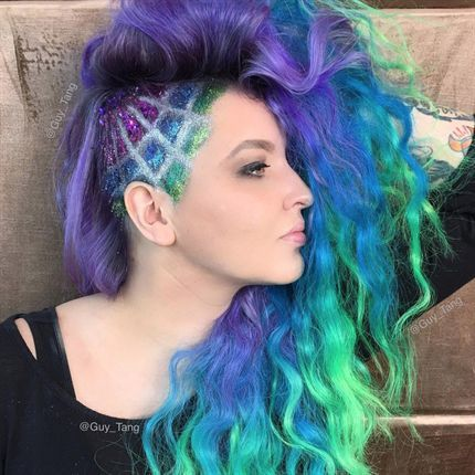 Mermaid Etching with Guy Tang and Rebecca Taylor -