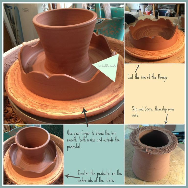Jennifer Burke Pottery - Cake Plate in the Making & Jennifer Burke Pottery - Cake Plate in the Making | PapapapPOTTERY ...