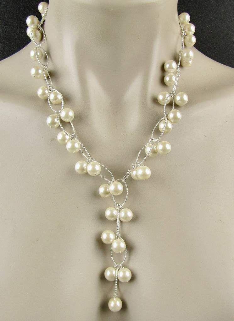concave disc earrings with pearls on Sterling ear wires Gift Earrings Pearl Drop earrings Hammered Earrings Dish Shaped Silver Earrings