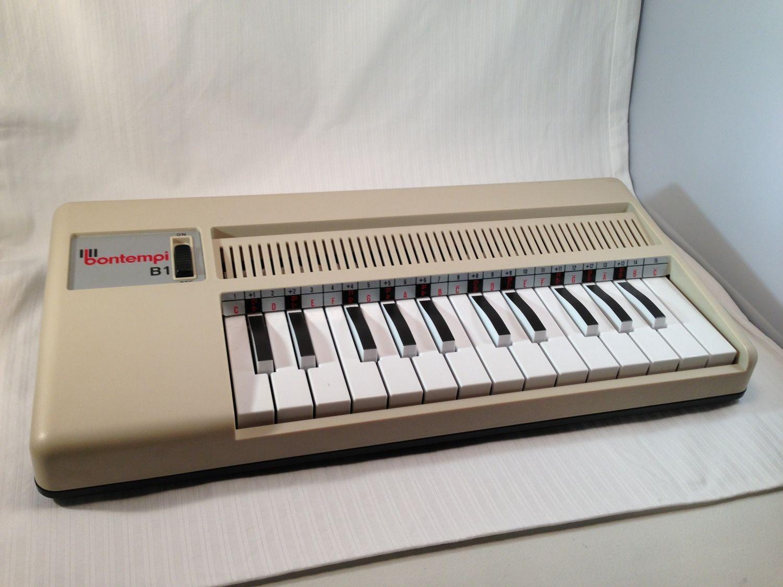 Vintage 1980s Bontempi B1 Electric Air Organ Fan Operated Made In Italy Rare Vintage Vintage Iris Organs