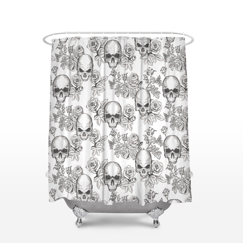 Fabric Stall Shower Curtain 36 X 72 Inch For Bathroom Sethalloween