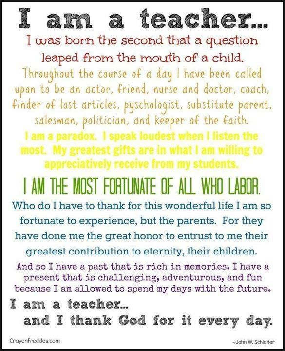 I am a teacher 21st Century Teacher Traits Pinterest Teacher - best of invitation quotes for teachers
