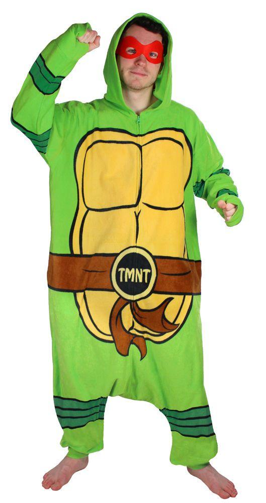 Unisex Turtle Costume