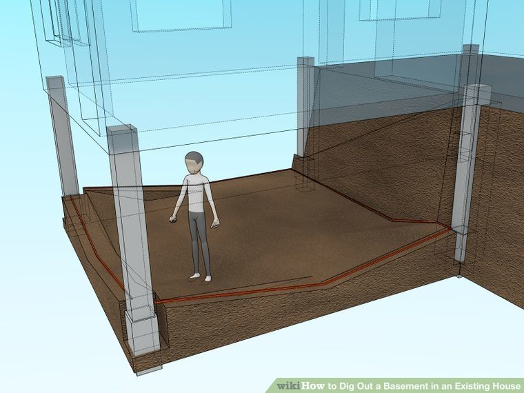 How To Dig Out A Basement In An Existing House