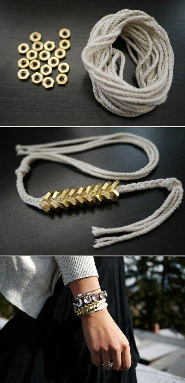 Comment Fabriquer Des Bijoux Pour Moins De 3 Euros Comment Fabriquer Des Bijoux Fabrication Bijoux Creation Bijoux Facile