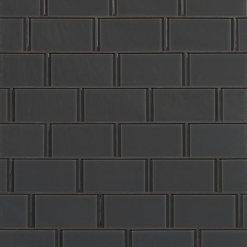 Pure Shadow Shiny Gl Tile 3in X 6in 913102052 Floor And