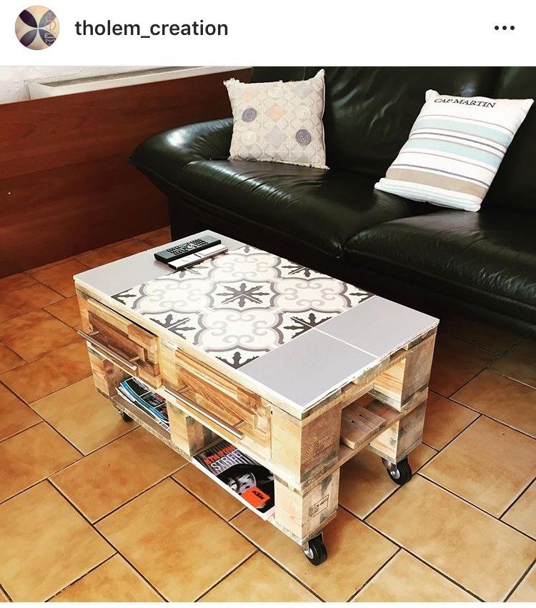 Epingle Par Thomas Lemaire Sur Table Basse Palette Et Carrelage Table Basse Palette Table Basse Palette
