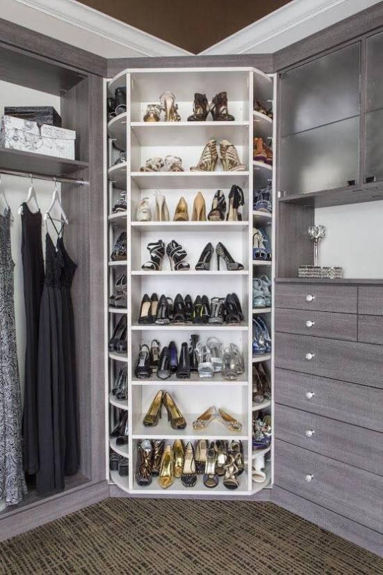 Dreamy Walk In Closet Ideas Shoe Rack Storage Organization