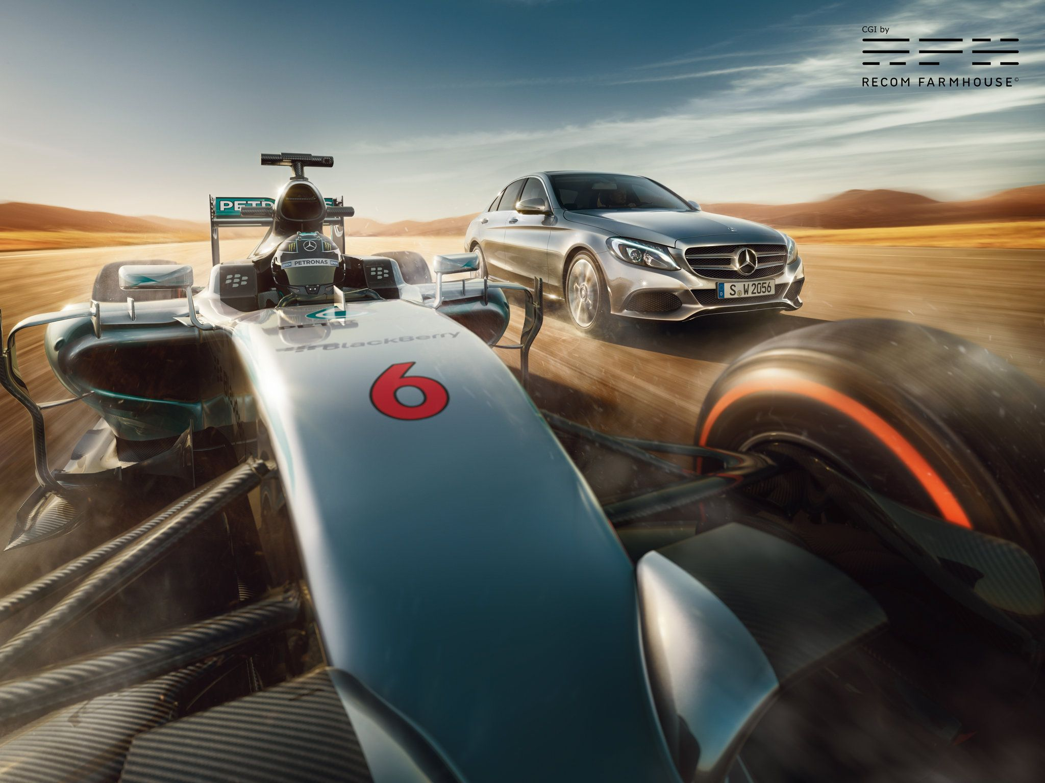 Mercedes Formula One Time warp