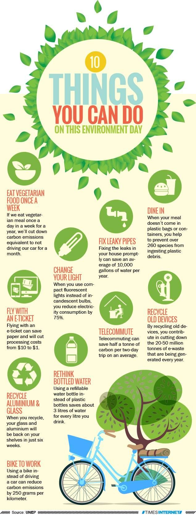 Here Are 10 Simple Thing You Can Do On A Daily Basi To Help Reduce Human Impact The En Environment Day World Poster Essay Green