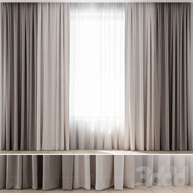 3d Modeli Shtory Curtains 15 In 2020 Living Room Decor