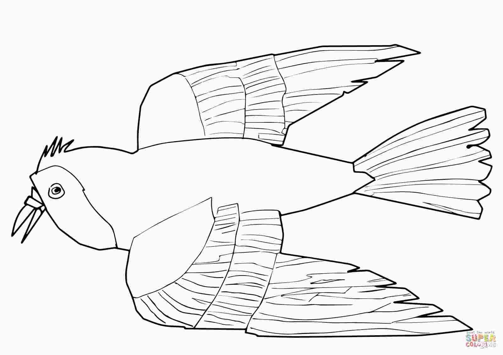 Red Bird Coloring Page Bird Coloring Pages Coloring Pages Red