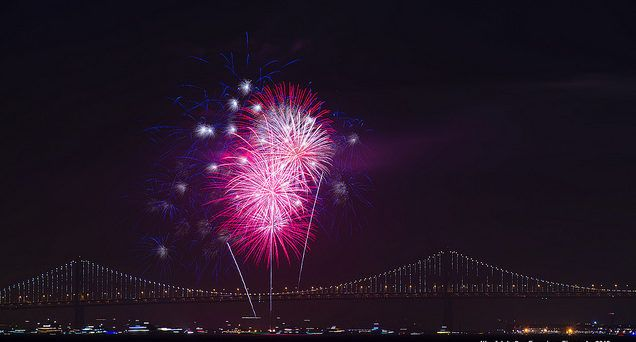 san francisco july 4th fireworks 2017