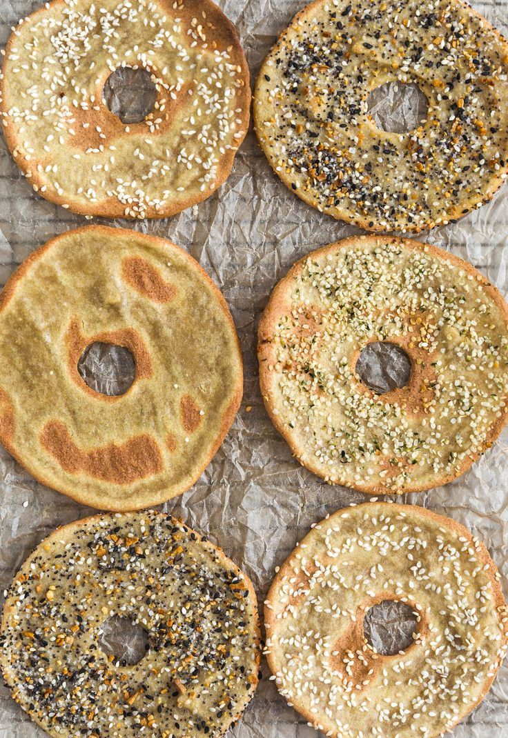 Quinoa Flatbread Bagels