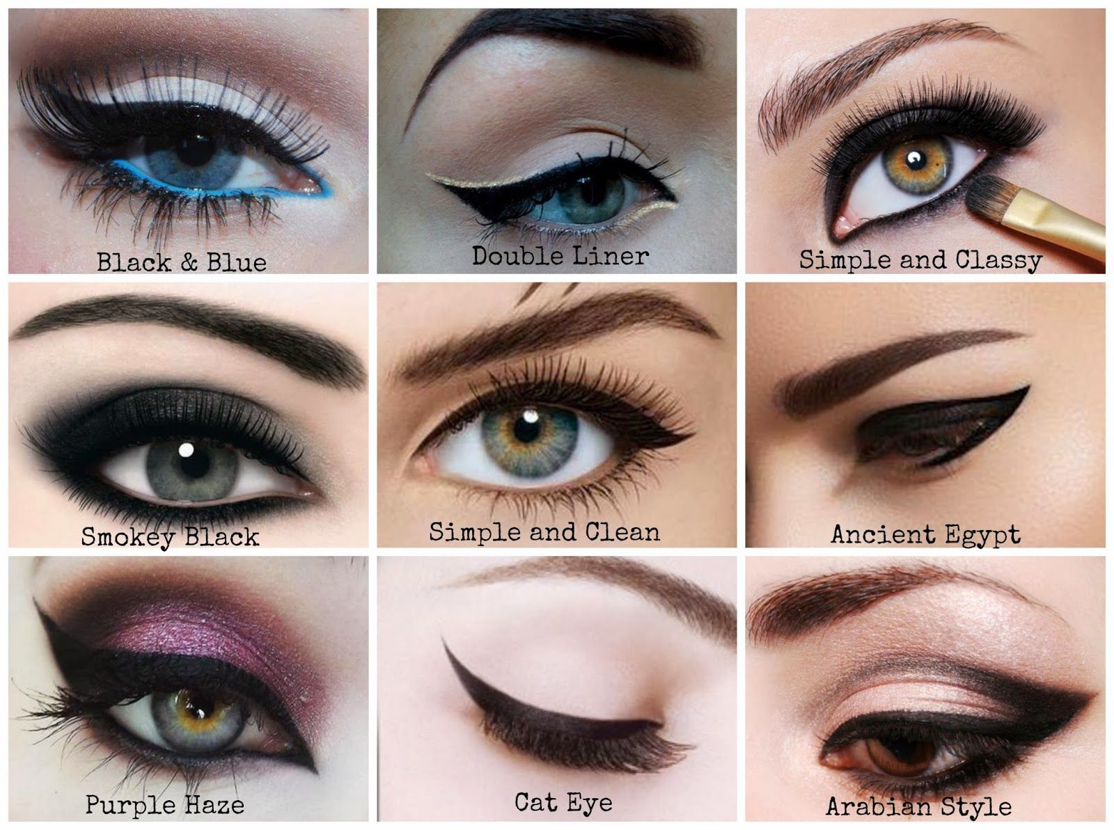 Best Eyeliner Style for Your Eye Shape   MakeUp   Pinterest   Cats ...
