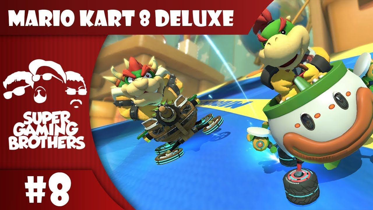 SGB Play Mario Kart 8 Deluxe Part 8 Big Blue Balled