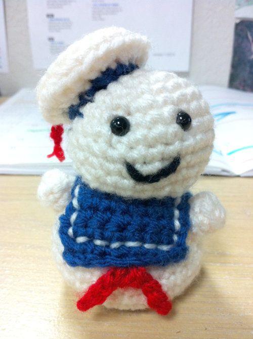 "Miniature Stay-Puft Marshmallow Man, Mandy from ""SilverWordz"" - so ..."