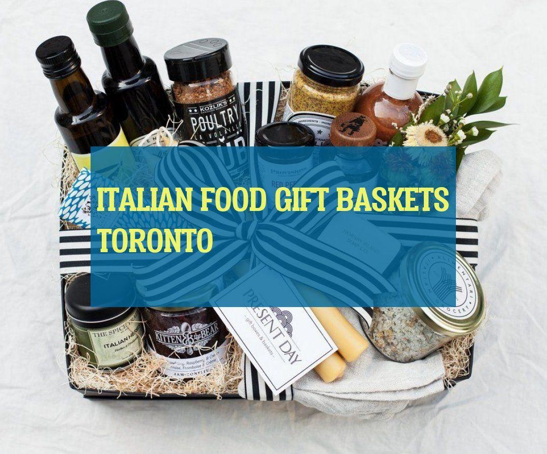 Geschenkkörbe Des Italienischen Essens Toronto