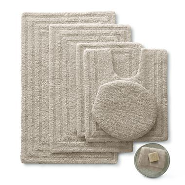 Linden Street Cotton Reversible Bath Rugs Jcpenney Reversible