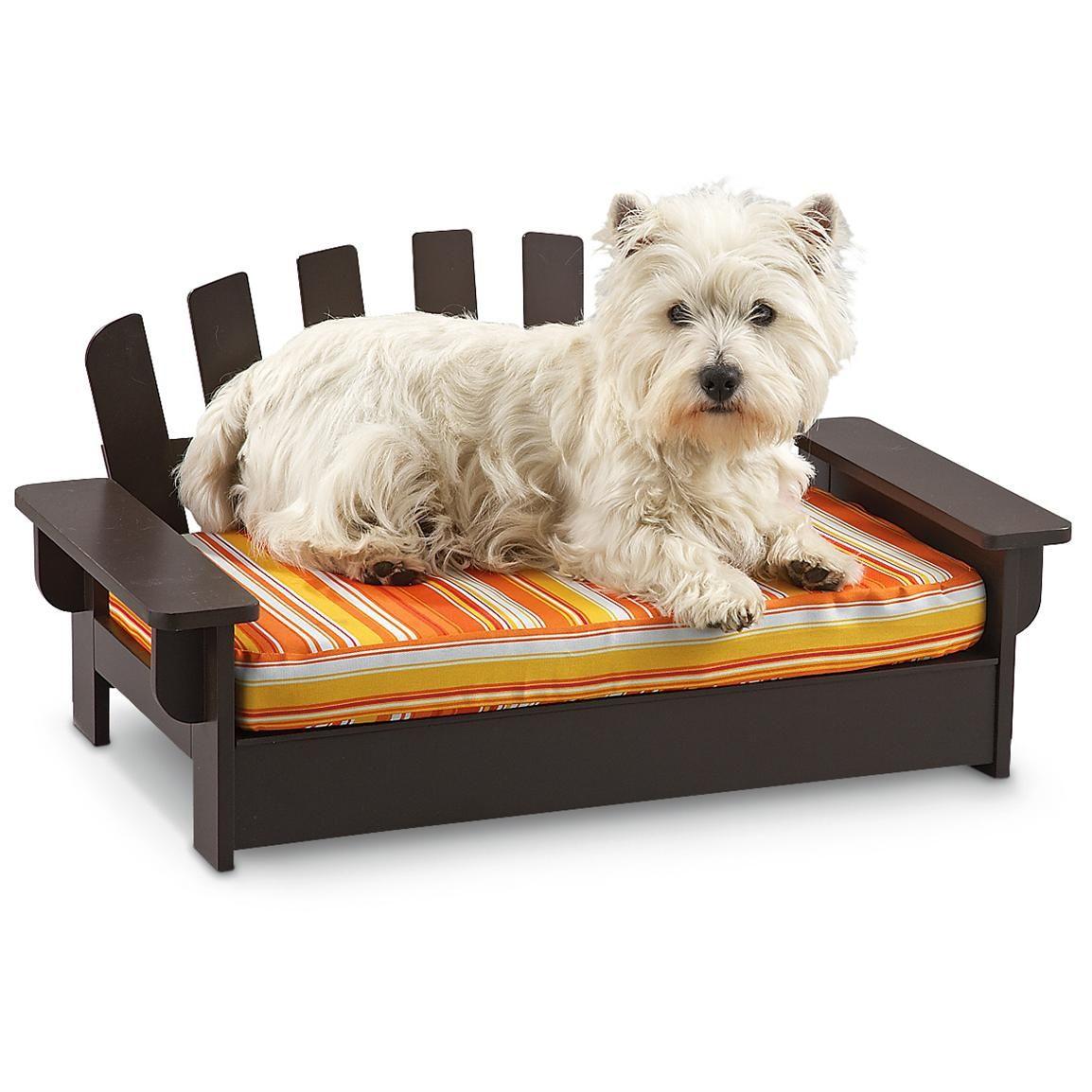 Wood Adirondack Pet Bed 969630, Dog Beds at Sportsman's