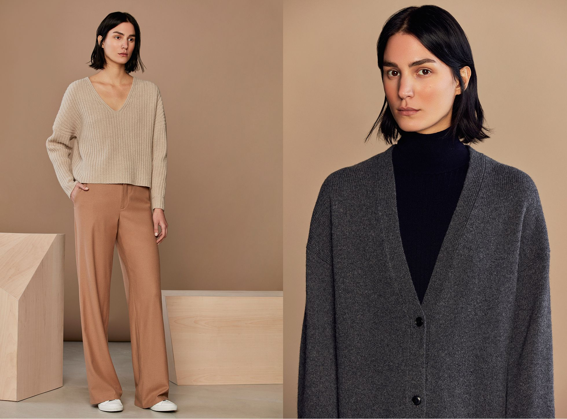 Ribbed Wool Cashmere Sweaters | Everlane | Girl fashion