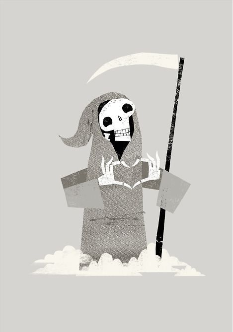 Love You to Death. (Illustration by Chris Madden)