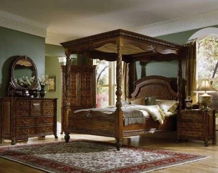 american signature west indies bedroom