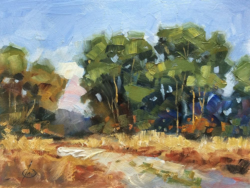 Landscape Oil Painting By Tom Brown Original Art Painting By Tom Brown Dailypainters Com Painting Original Art Painting Oil Painting Landscape