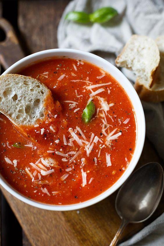 ger stete tomatensuppe rezept rezepte tomaten suppe suppen und tomatensuppe. Black Bedroom Furniture Sets. Home Design Ideas