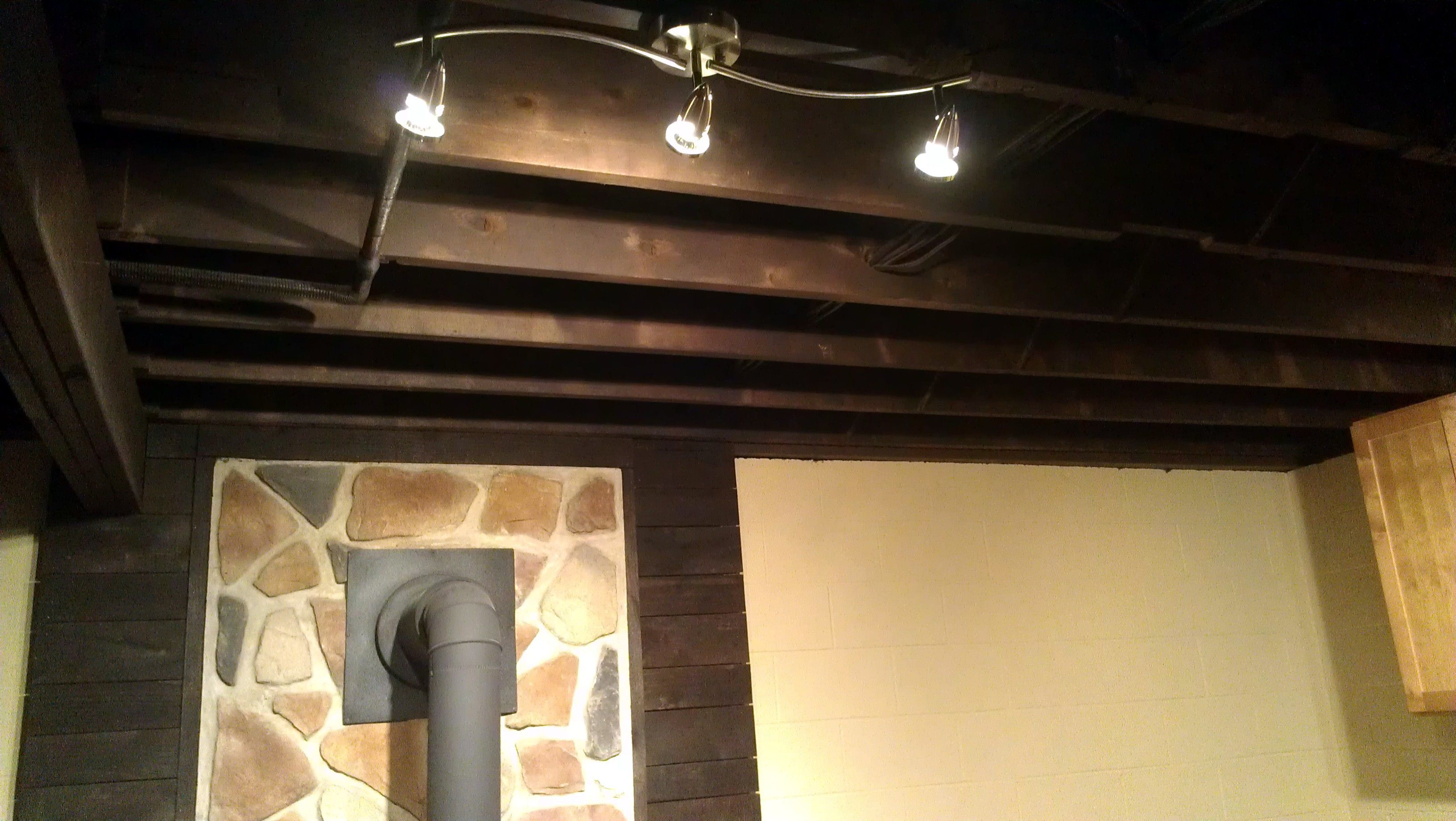 BASEMENT Reno You Can Paint Ceilings DITCH Those Drop We Used