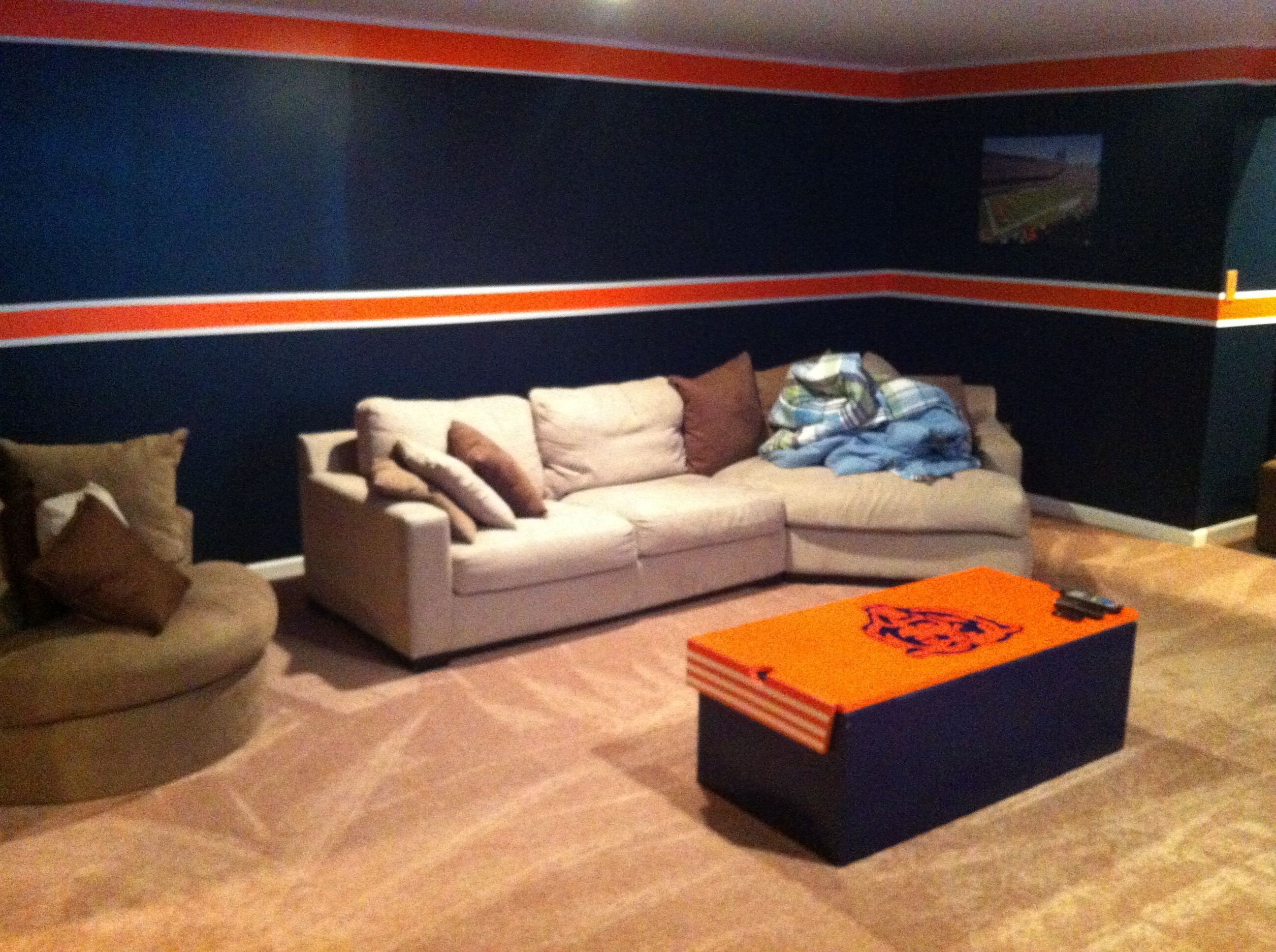 Chicago Bears Man Cave 2
