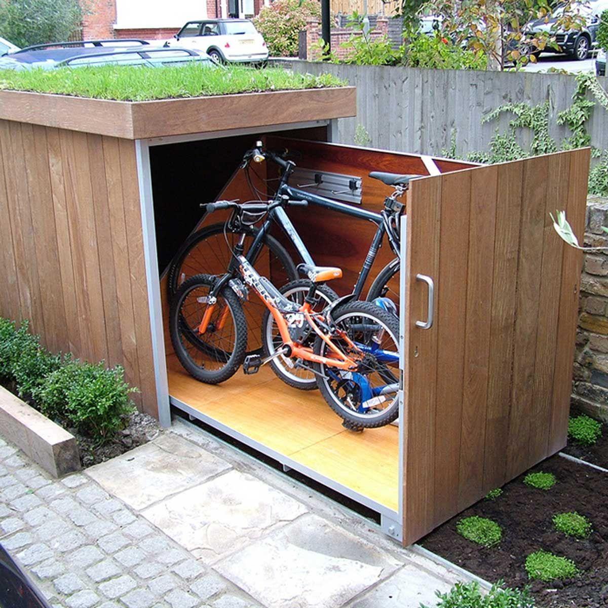 bike storage outdoor bike storage