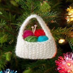 Yarn Basket Ornament