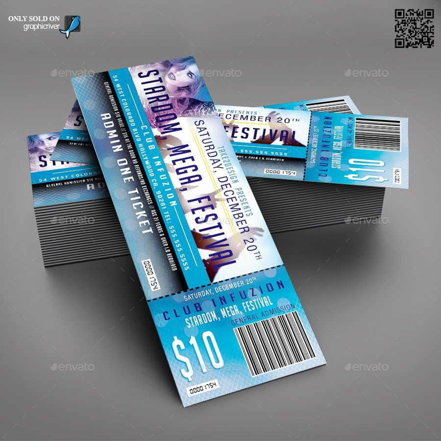 print ready event ticket template ticket pinterest ticket