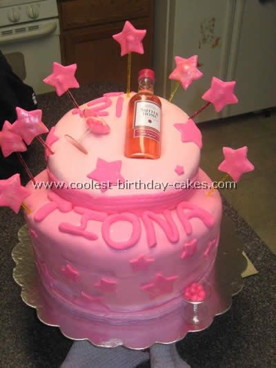 turning 21 birthday cake ideas food recipes Pinterest