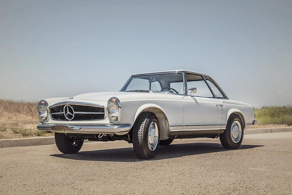 Mercedes Benz 230 Sl 1966 Papyrus White Db 717 With Images