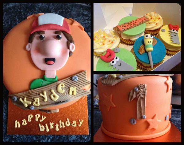 handy manny birthday cake #birthday #cake #Handymanny # ...