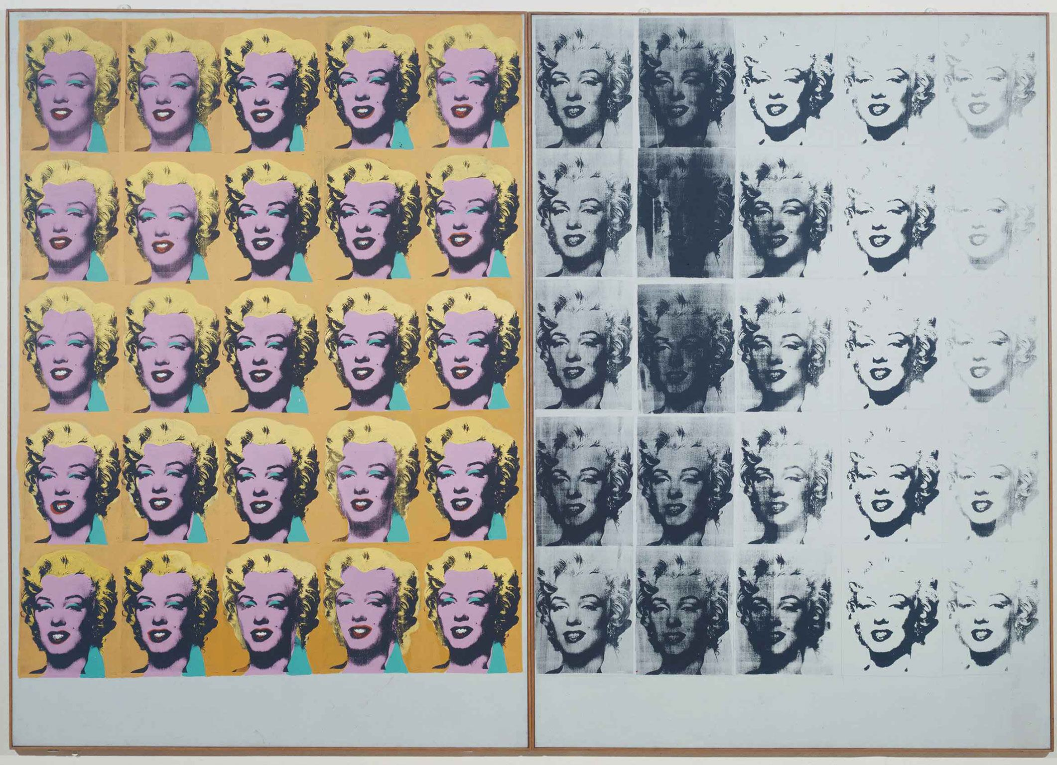 Andy Warhol China Man Classic X 3 Artistic Expression Celebrity Culture Poster
