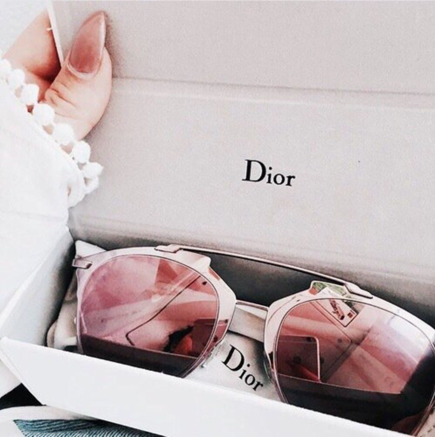champagne in everything Dior so real sunglasses