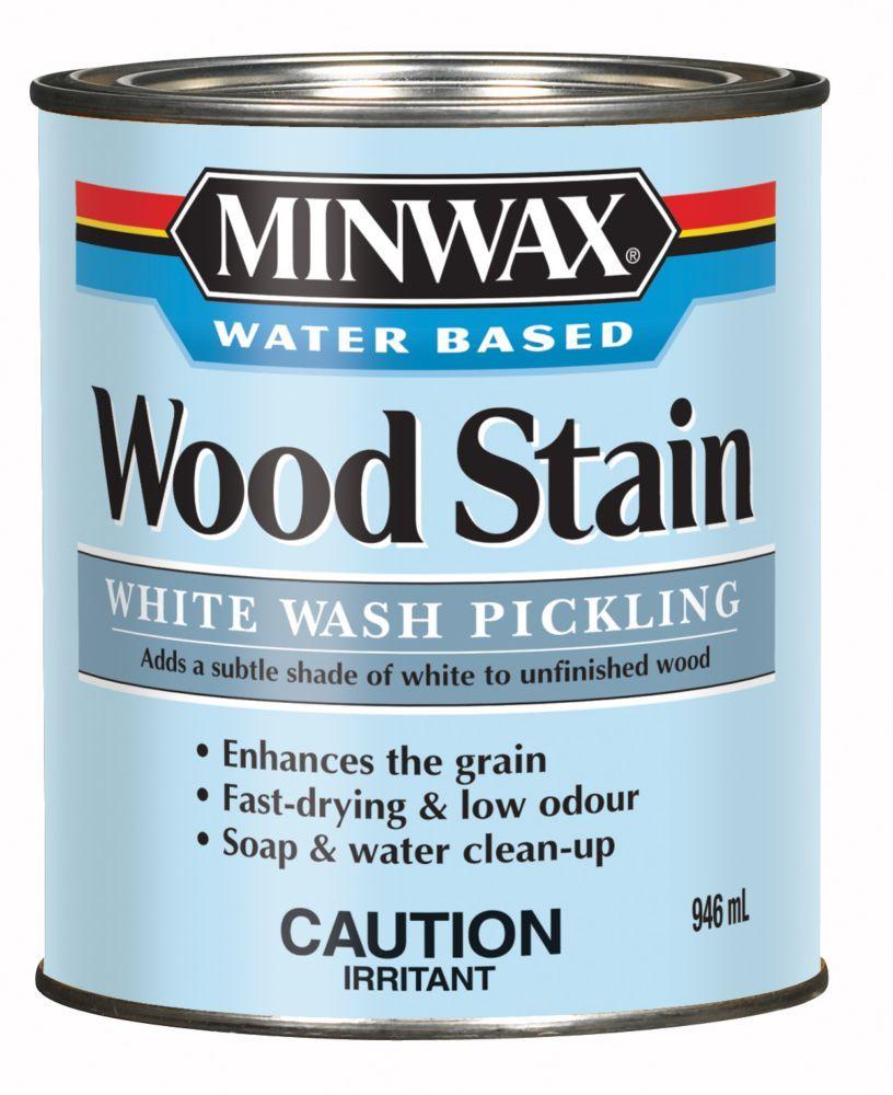 White Wash Wood Stain: White Wash Pickling Stain