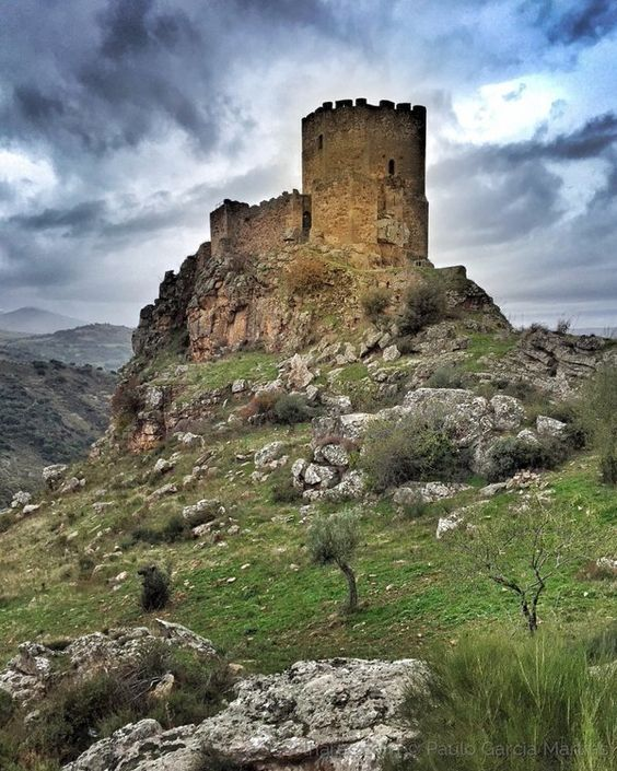 The Castelo De Algoso In Portugal.