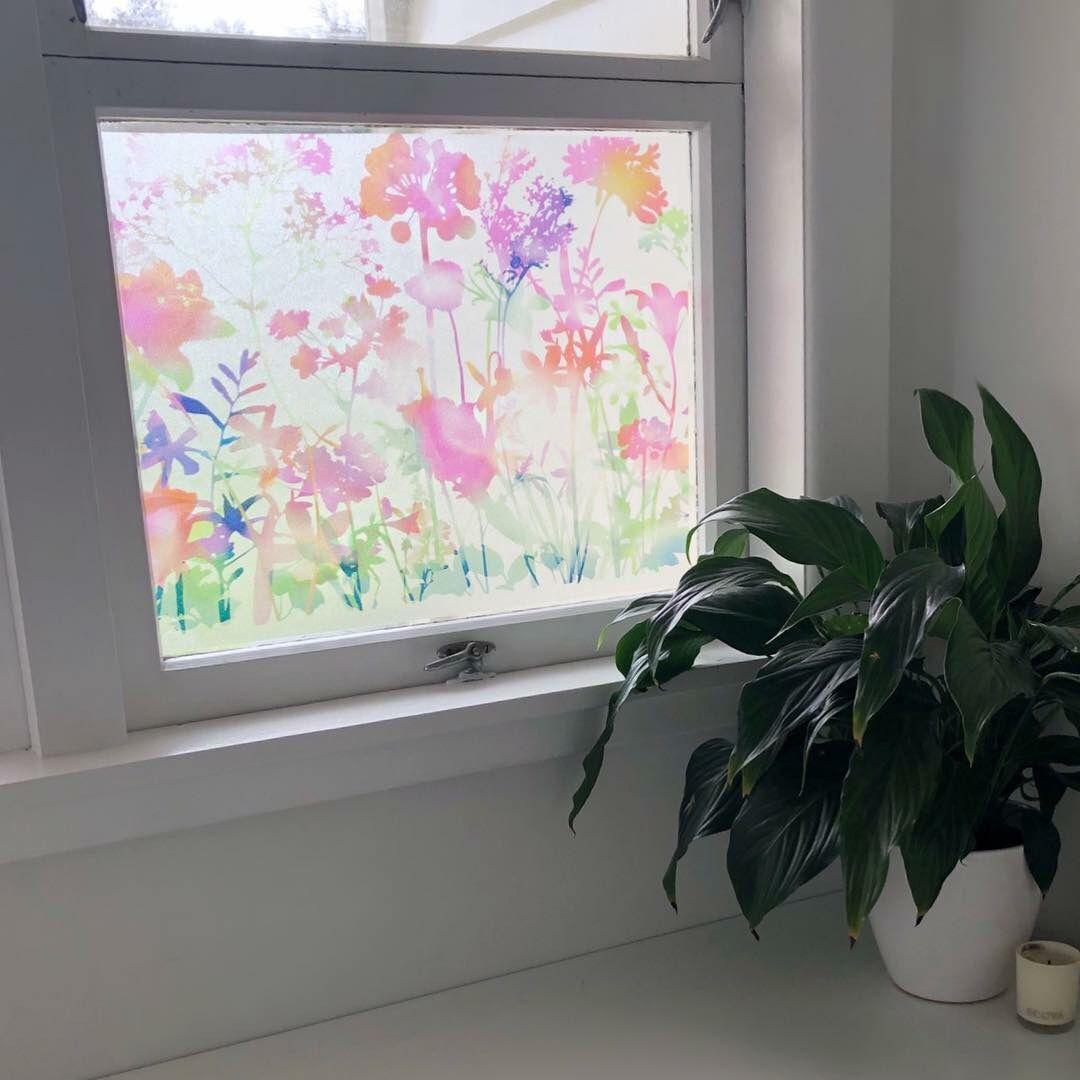 45cm X 1 5m D C Fix Miraflores Premium Static Cling Vinyl Window