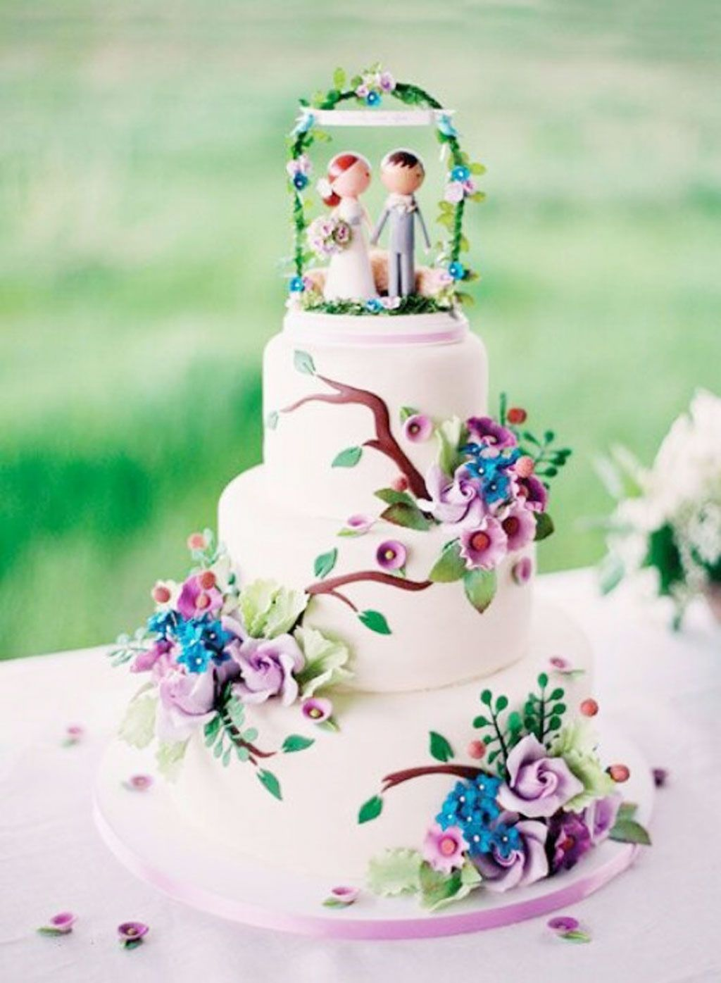 cute wedding cake ideas whimsical wedding cake ideas jpg 1024 215 1396 elisa 13274